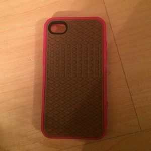 Vans pink silicone iphone 4/4s case