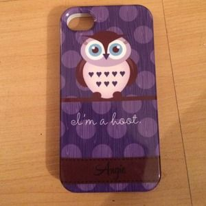 I'm a hoot (Angie) case owl case iPhone 4/4s