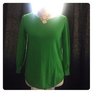 Forever 21 Kelly Green thin sweater