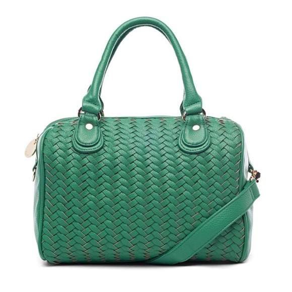 NWT Deux Lux Greenwich Woven Duffle