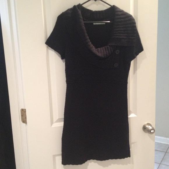 b65e231f3d9 Adorable Black Sweater Dress. M 543ea11b9dd0eb054f00954d