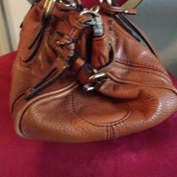74% off Chloe Handbags - Authentic Chloe paddington brown leather ...