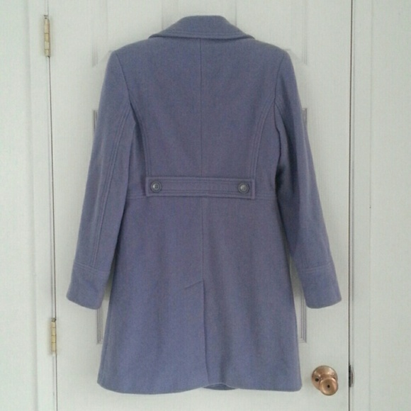 97% off Outerwear - Lavender Wool Coat from Dary's closet on Poshmark