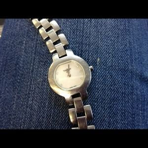 tissot Other - Tissot authentic diamond and mother of pearl watch