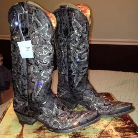Old gringo - BNWT old gringo Swarovski crystal 9.5 cowboy boots ...