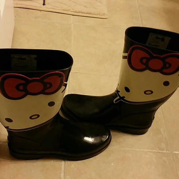 Hello Kitty Adult Rain Boots