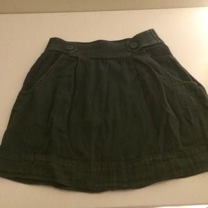 Staring at Stars Button Waist Skirt