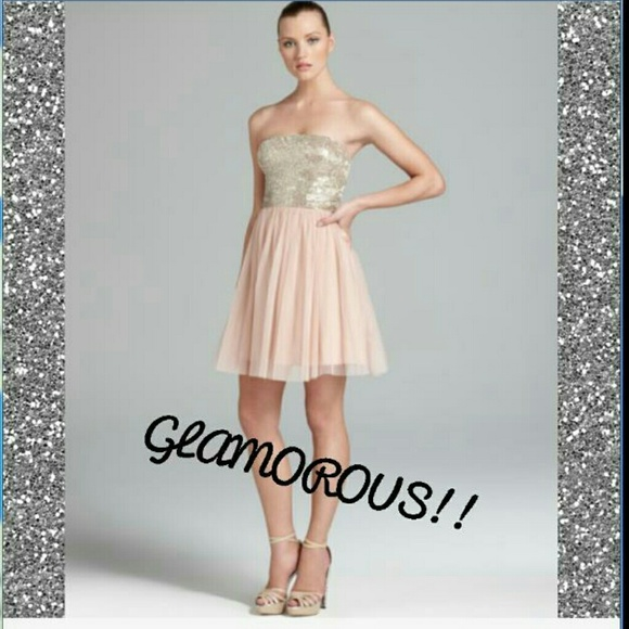 Aidan Mattox Dresses | New Pink Aline Homecoming Dress | Poshmark
