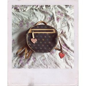 Dooney&Bourke Black Backpack