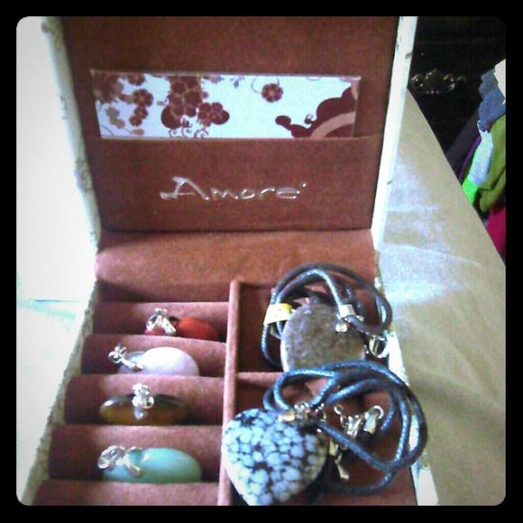 Amore Jewelry Brand New Semi Precious Stone Collection Poshmark