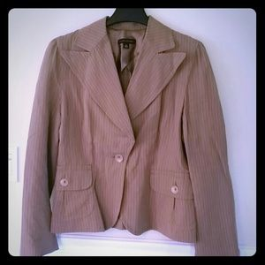 Pinstripe blazer by Banana Republic