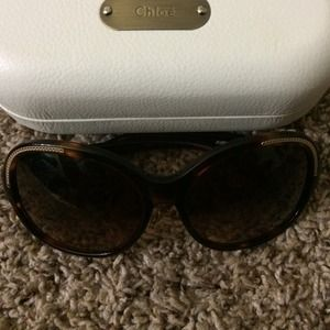 Authentic Chloe shades.