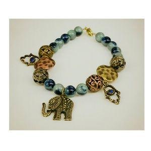 Jewelry - Bracelet Elephant  By Justy Esther