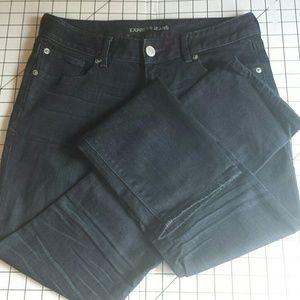 Express Dark Wash Stella Skinny Jeans