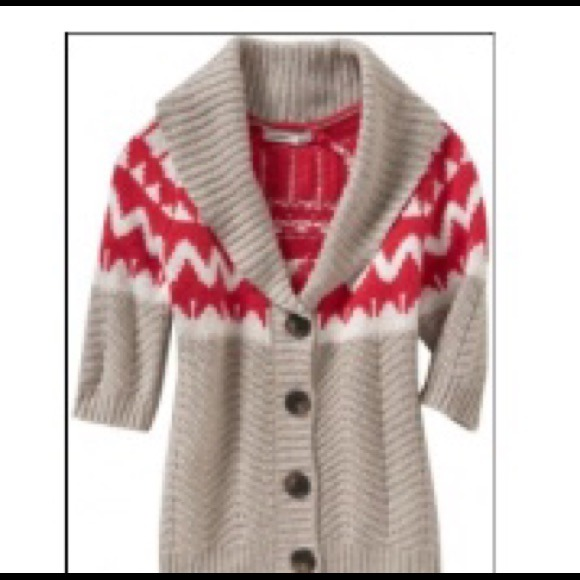 50% off Old Navy Sweaters - Old Navy Shawl Collar Fair Isle ...