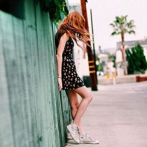 Brandy Melville sunflower Rin dress