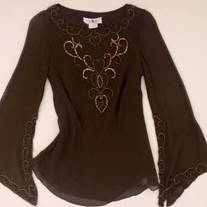 Sue Wong Nocturne Beaded Tunic 4