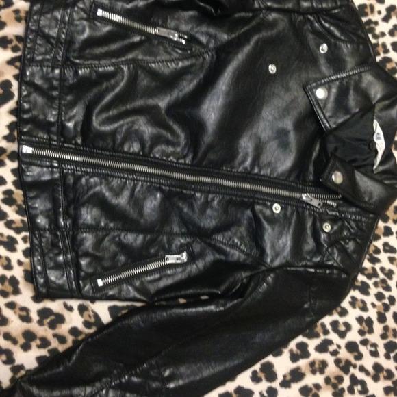 854439c18 H&M Jackets & Coats | Sold Hm Kids Leather Biker Jackets | Poshmark