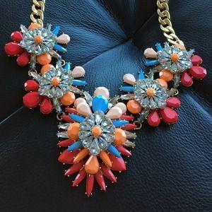 Baublebar AtlanticPacific + orange necklace BUNDLE