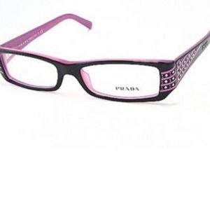 pink prada glasses