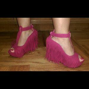 Shoes - Bohemian wedges