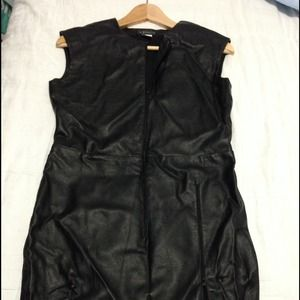 Venus Leather Dress