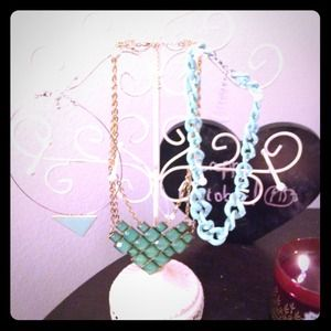 Mint colored necklaces $20 for all or $8 each