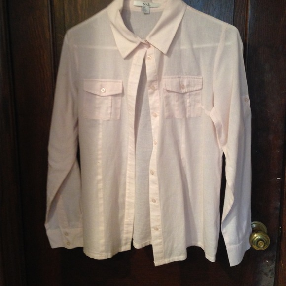 40 off forever 21 tops light pink button down shirt for Pastel pink button down shirt