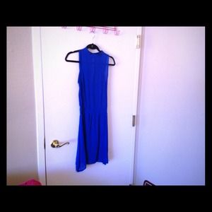 ZARA Collection Royal Blue Dress