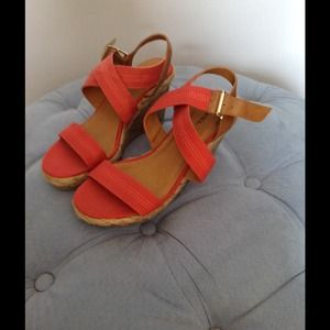 Cute summer wedge