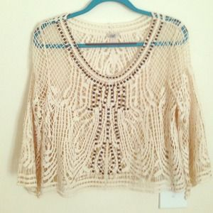 Ecote UO crochet top.