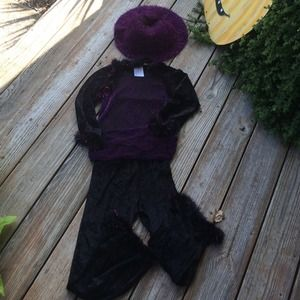 Other - Purple and black kids witch costume