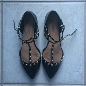 JustFab Shoes - Rock studded flats