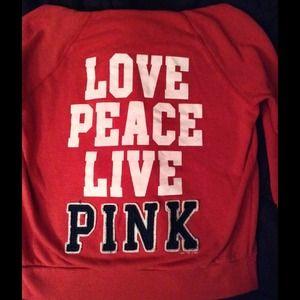 Victoria Secret Pink 3/4 hoodie