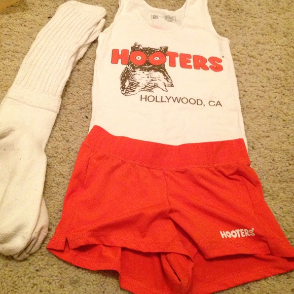 Hooters Other  Authentic Girl Of Hollywood Outfit  Poshmark-8746