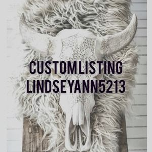 Other - Custom listing for @lindseyann5213