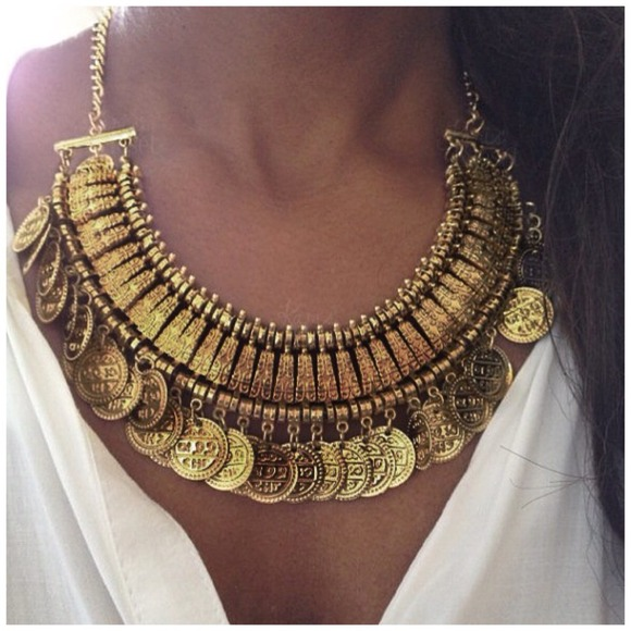 necklace ivpb coin etsy il gold market ca golden