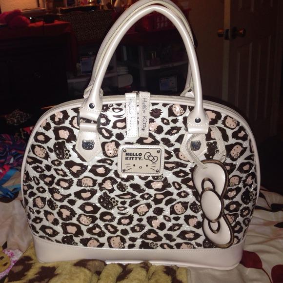 47831b71e Hello Kitty Bags | Cheetah Bag | Poshmark