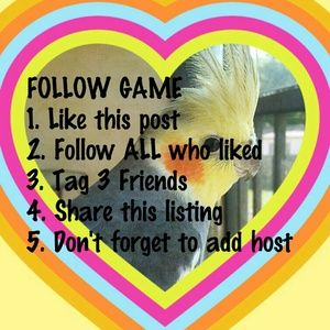 Let's Play the Follow Game :)