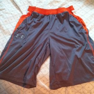 ❌SOLD in Bundle❌ Boys grey and orange shorts