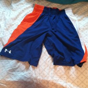 ❌SOLD in Bundle❌ Boys blue and orange shorts