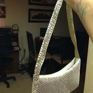 65aa108cd94 Bags - Vinted silver sequin evening bag