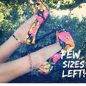 Shoes - Floral shoes