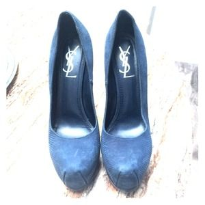 YSL tribute pumps