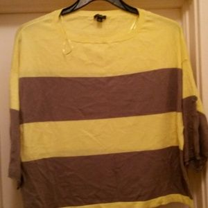 Tops - Yellow and gray half too