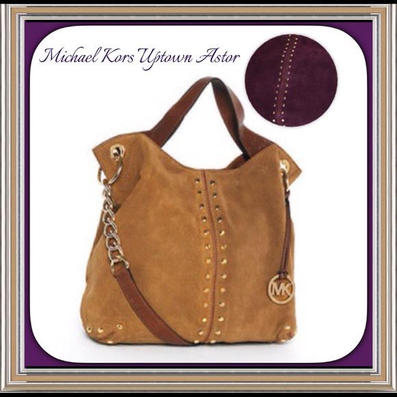 9c9fbf1f8229 MICHAEL Michael Kors Bags | Michael Kors Uptown Astor Large Shoulder ...