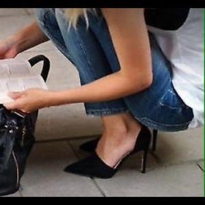 Zara vamp high heel shoes with gel insole