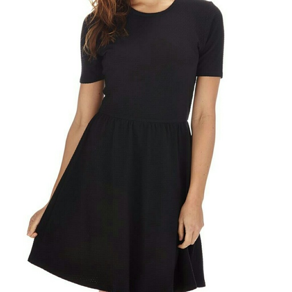 40% off Cotton On Dresses & Skirts - Black skater dress from Amy's ...