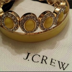 J Crew yellow bangle