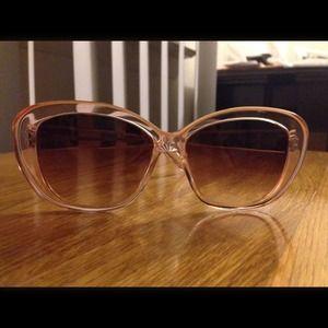 Barton Perreira Accessories - Barton Perreira Light Pink Summer Sunglasses.